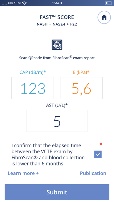 MyFibroScan for iPhone