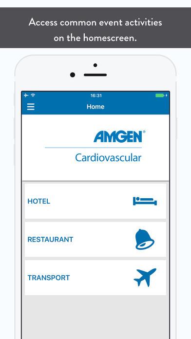 Amgen Congres App for iPhone