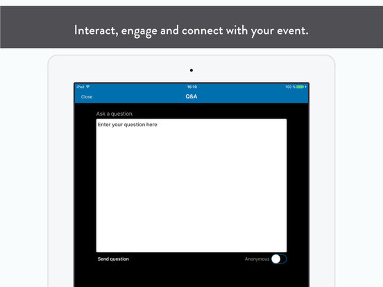Amgen Congres App for iPad