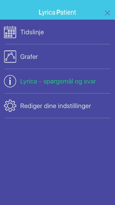Lyrica Patient for iPhone