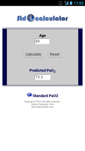 Standard pO2 Calculator