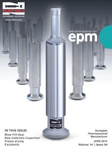 European Pharma Manufacturer