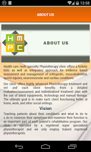 HMPC  HealthCare Physiotherapy