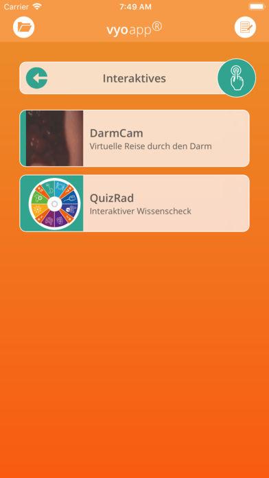 vyoapp® - Die CED-App for iPhone