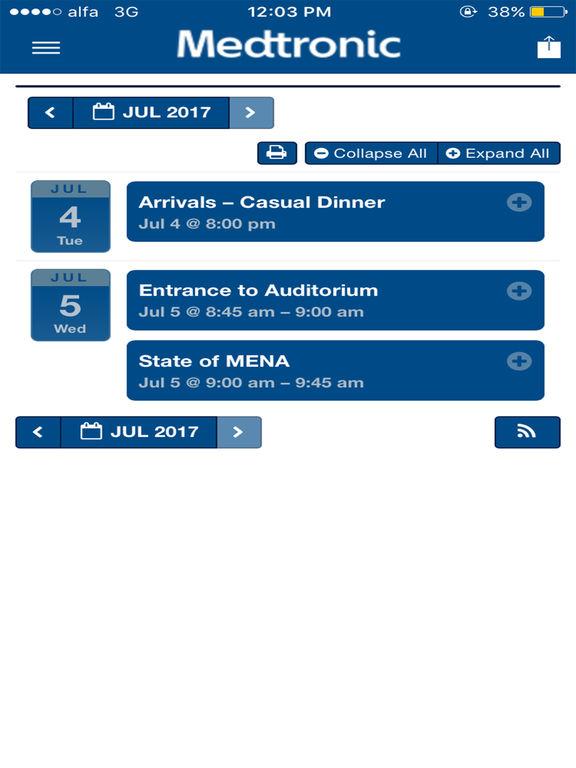 Medtronic MENA for iPad