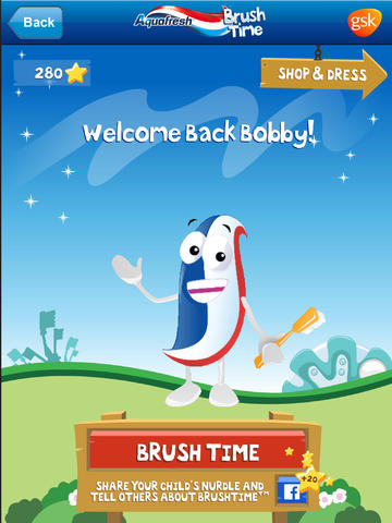 Aquafresh Brush Time USA for iPad