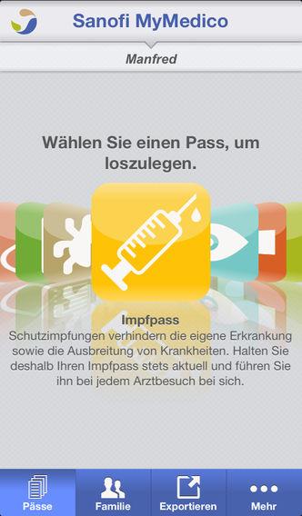 MyMedico - der Gesundheitspass for iPhone