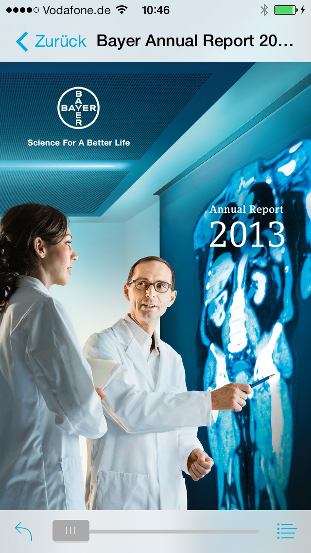 Bayer Annual Report for iPhone