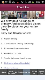 Barry and Sargent Optometrists