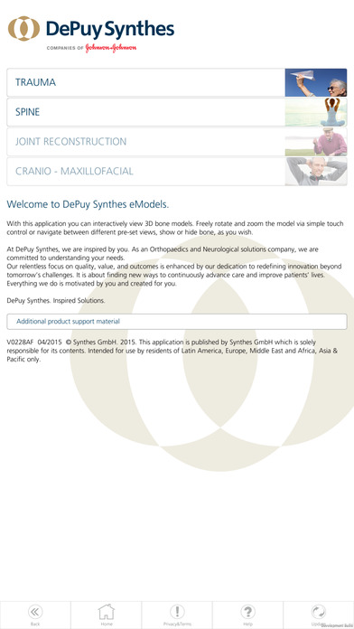 DePuy Synthes eModels for iPhone
