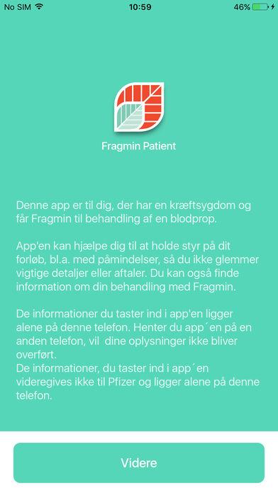Fragmin Patient for iPhone