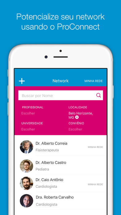 Pfizer PROConnect for iPhone