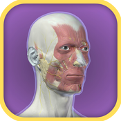 3D Facial Anatomy Tool for iPhone