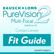 Bausch+Lomb PureVision2 Fit Guide for iPad