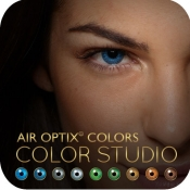 AIR OPTIX® COLORS - Color Studio for iPhone