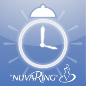 NuvaRing Reminder App for iPhone